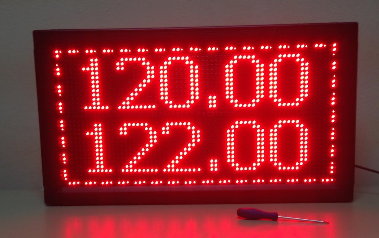 Crveni-crvene-led-display-displej-reklama-reklame-za-menjacnicu-menjacnice-sa-promenom-kursa